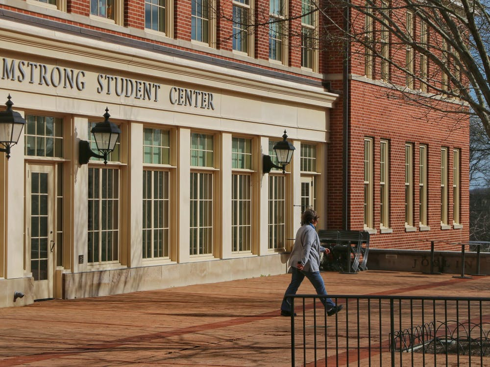 Armstrong Student Center may soon be allowing gatherings large than 10 people inside the building.