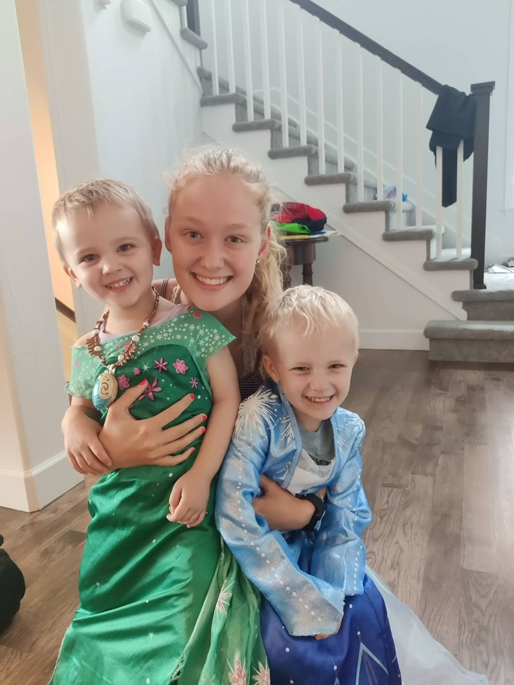 <p>Anna Lindstrom is a college student by day and a full-time nanny on the weekends.</p>