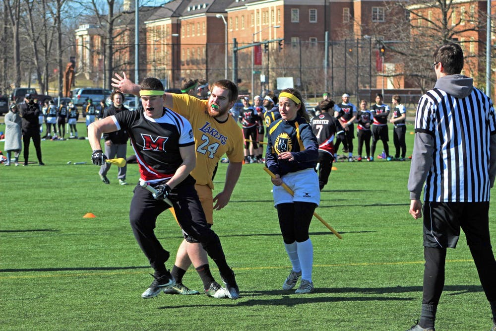 <p>The Miami Quidditch team flew to a default victory this past weekend.</p>