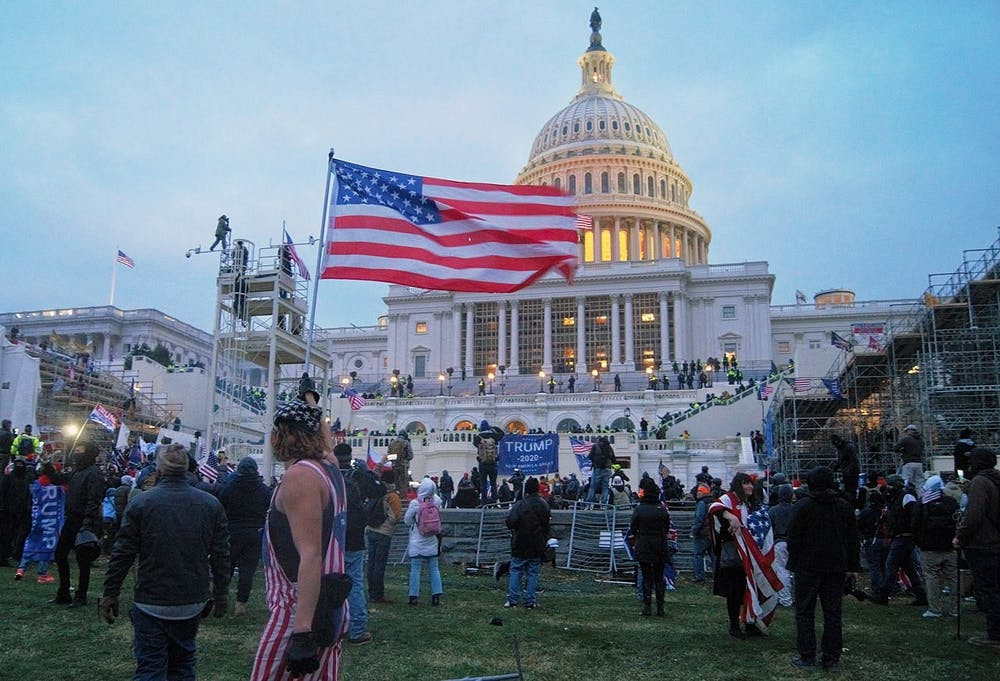 <p>Between the Captiol insurrection and a new president, the political discord is alive and well in 2021.</p>