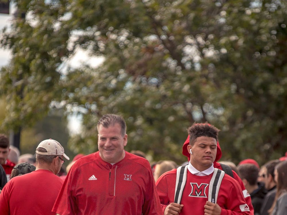 In 2019, Chuck Martin led the RedHawks to seven wins and a Mid-American Championship appearance for the first time in his tenure. Martin signed as Miami's head coach after the program went 0-12 in 2013.