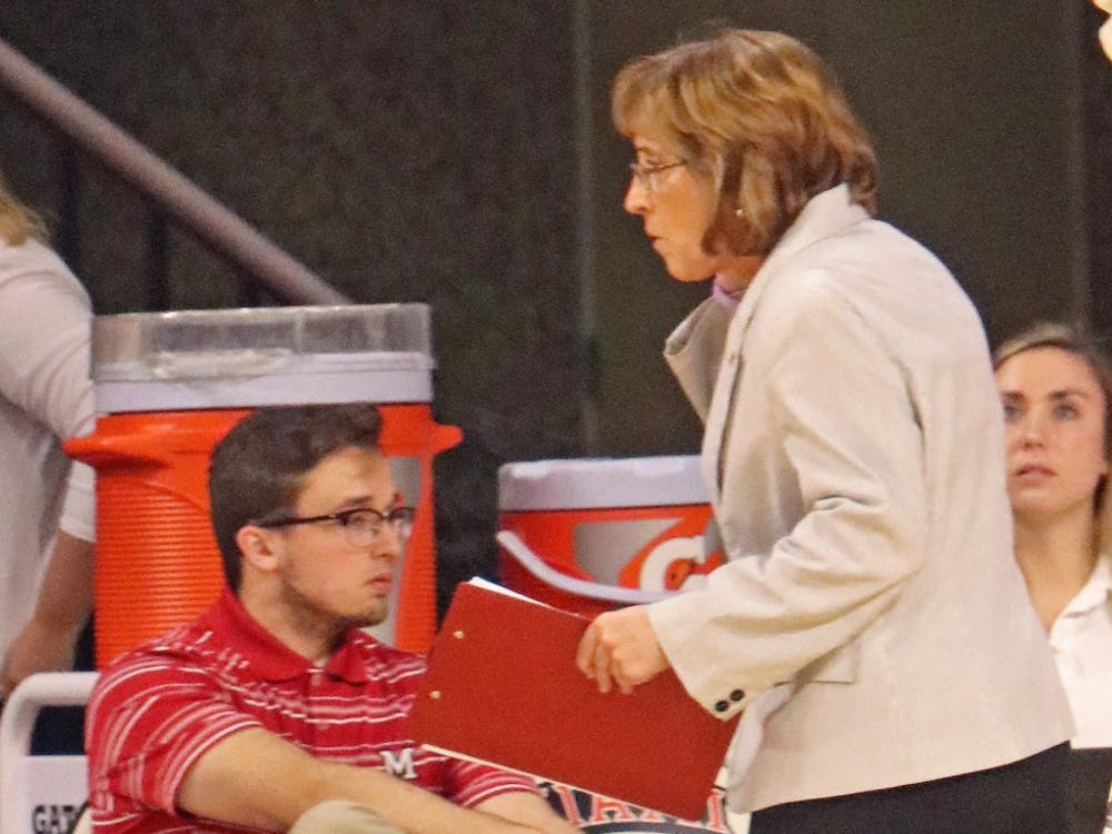 Volleyball head coach Carolyn Condit has instituted a strong culture at Miami, leading to ten conference titles during her 37-year tenure.