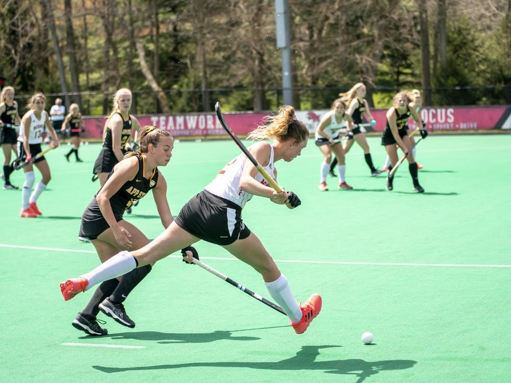 Field hockey clinched an NCAA tournament berth after last weekend's sweep of Appalachian State.