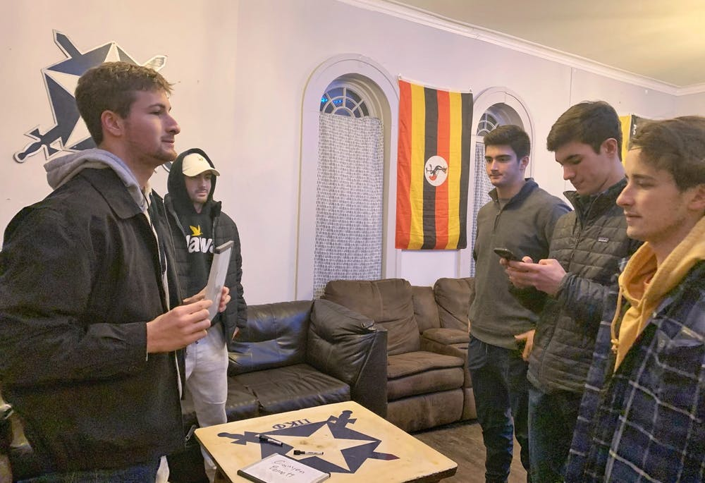 <p>Fraternity potential new members say they aren&#x27;t concerned about hazing.</p>