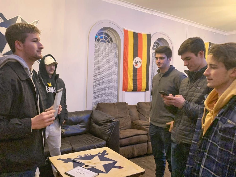 Fraternity potential new members say they aren't concerned about hazing.