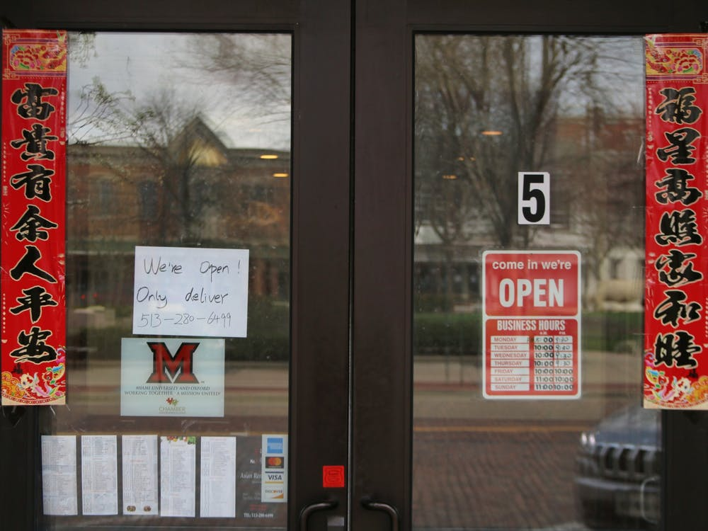 Since students have mostly left campus in the wake of the novel coronavirus pandemic, Oxford to You is depending on residents to help keep local restaurants afloat.