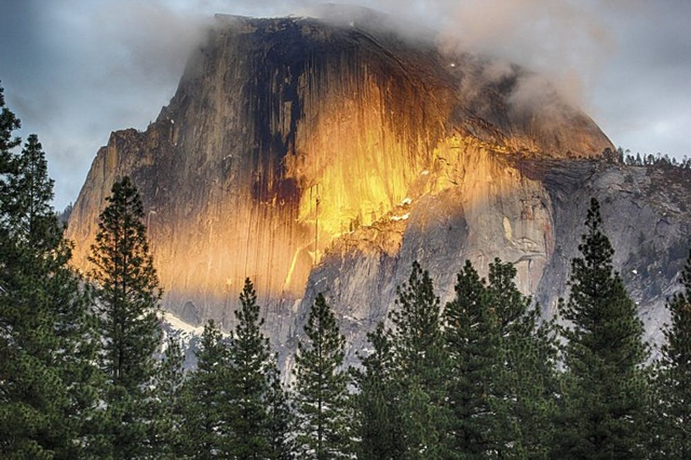 "<p>Half Dome in Yosemite National Park | Photo by <a href=""UponArriving.com"" target="""">Daniel Gillaspia</a> via Creative Commons</p>"