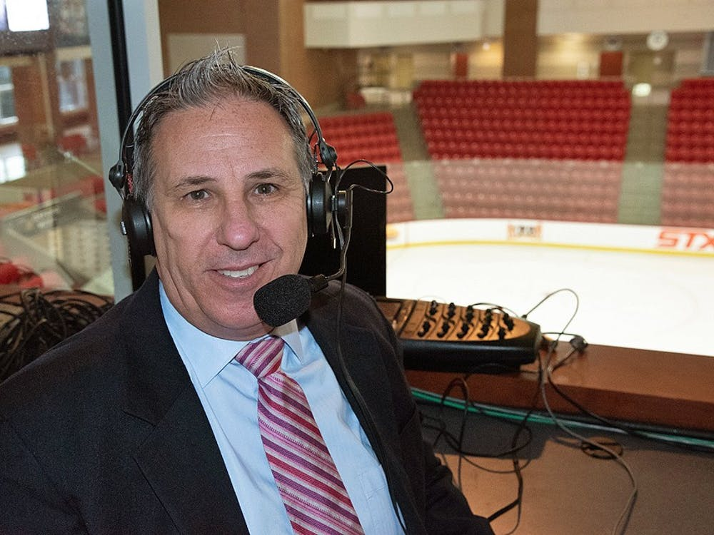 Growing up, Greg Waddell idolized Marty Brennaman, the radio voice of the Cincinnati Reds. Waddell has followed in Brennaman's footsteps by making a career of broadcasting sports.