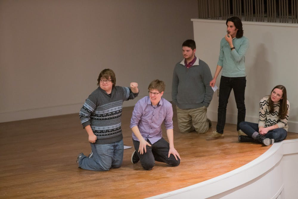 Sketched Out Improv show in Armstrong.