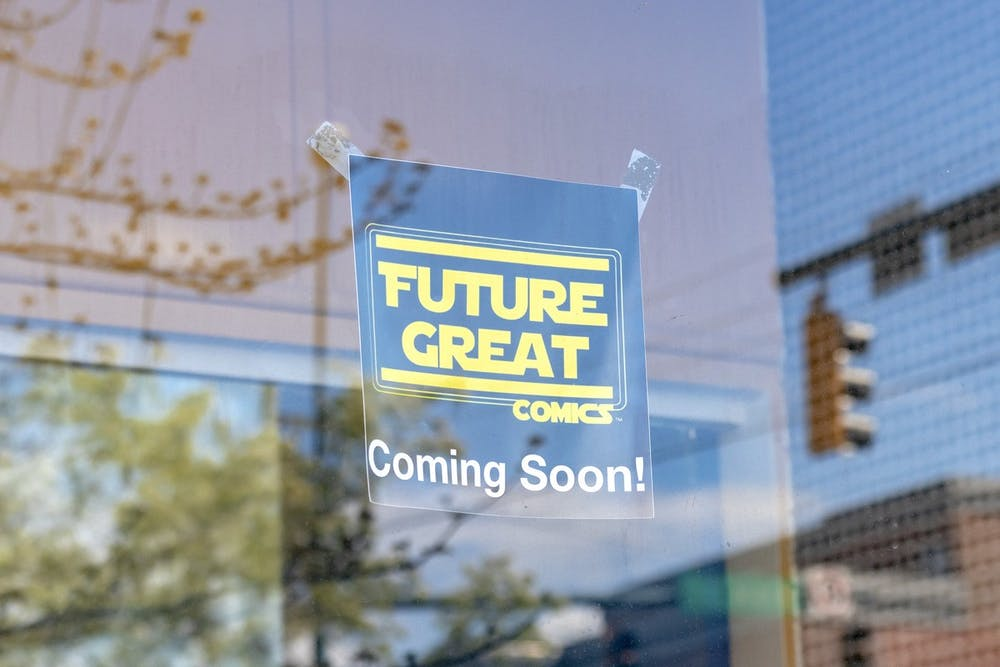 Future Great comics will opening a new store in Oxford's Uptown business district on May 1.