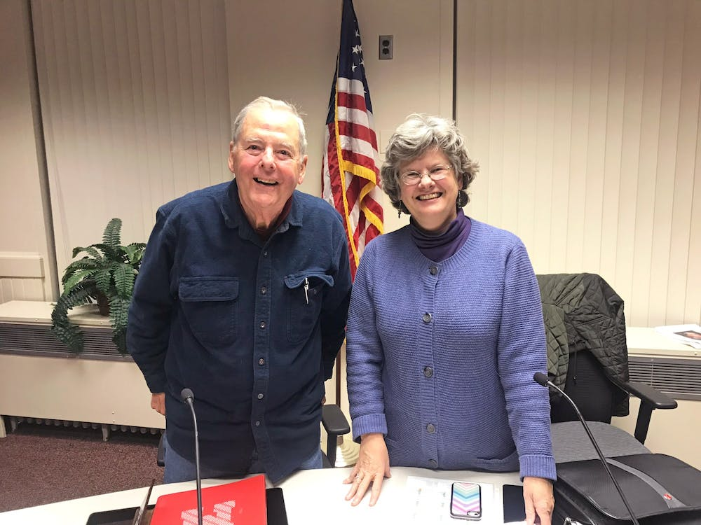 <p>Nov. 19 was Mayor Kate Rousmaniere and Vice Mayor Steve Dana&#x27;s last city council meeting. </p>