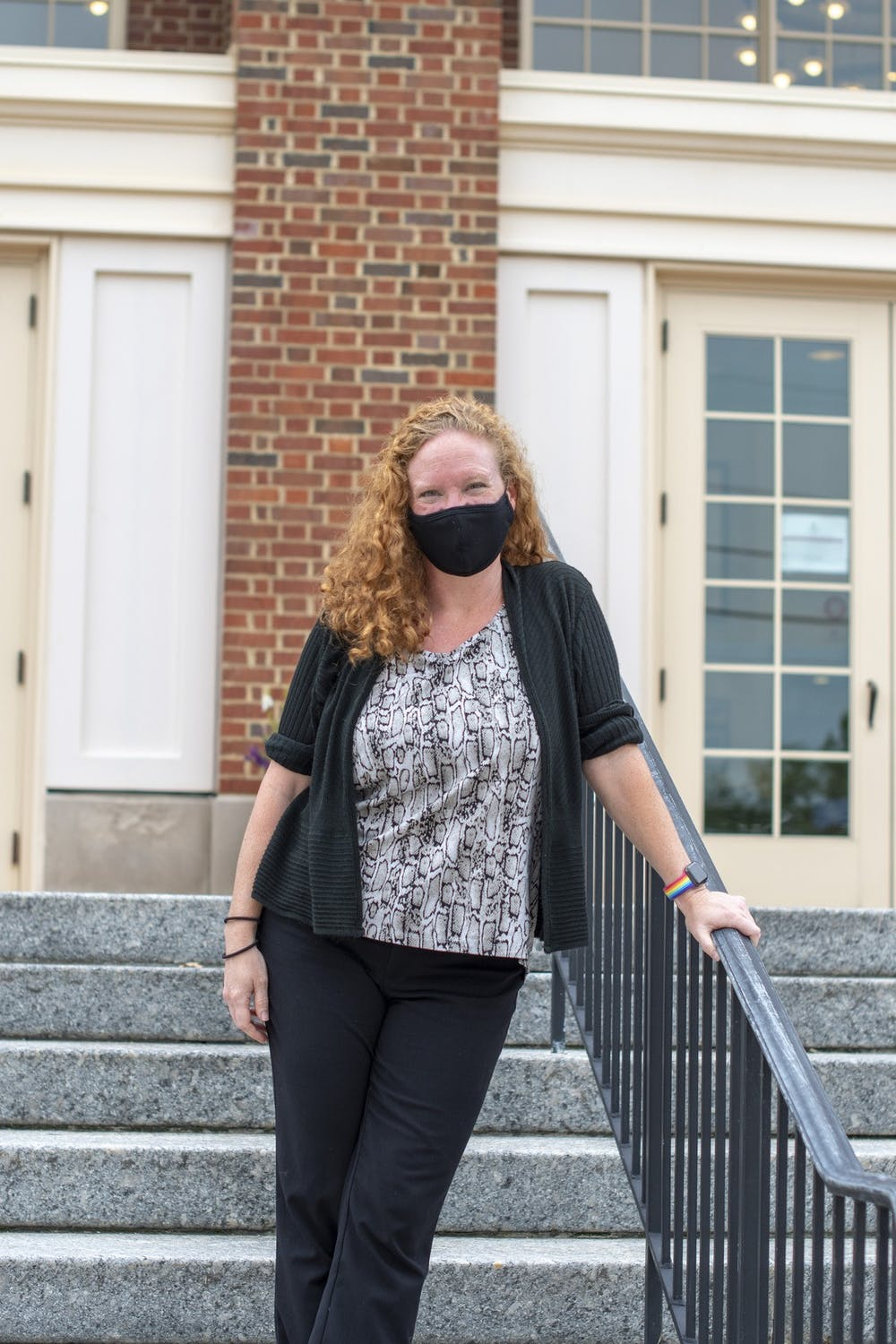 <p>April Callis, Miami's new associate director for LGBTQ+ initiatives is ready to take on the school year with plans to advocate for LGBTQ+ students on campus.</p>