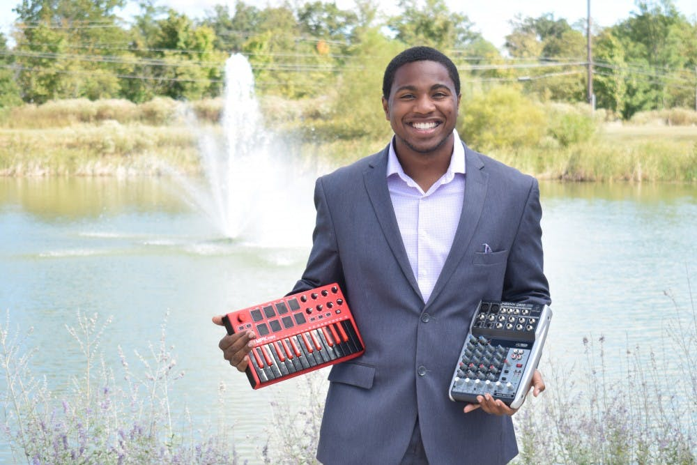<p>As a sophomore, Emmanuel &quot;Manny&quot; Addams balances being a full-time student and managing his own music production company. <br/></p>