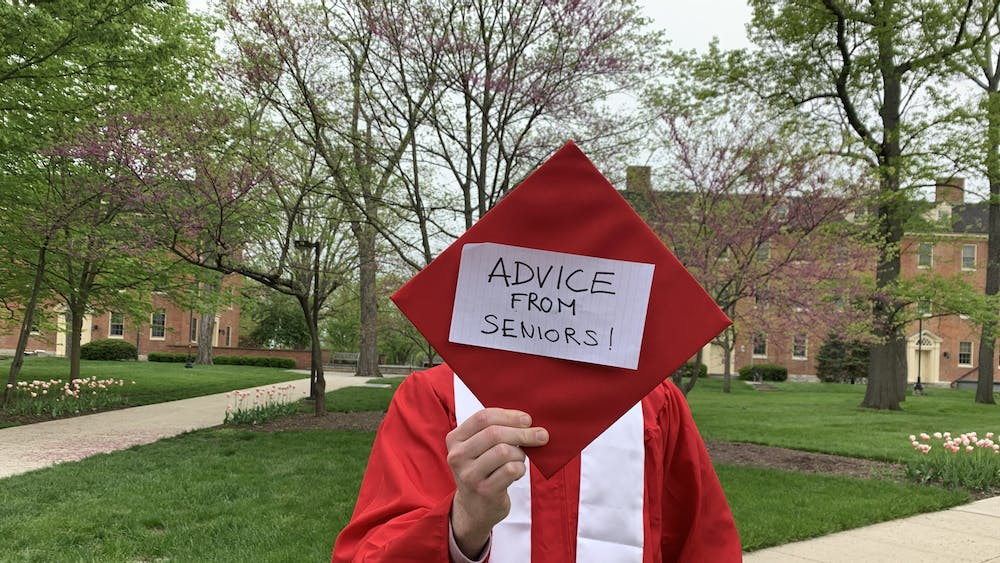 Seniors pay it forward and encourage first-years to learn from their mistakes.