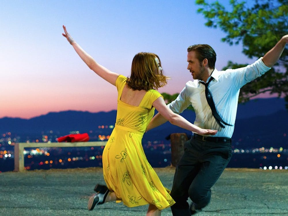 "Emma Stone and Ryan Gosling show off their tap-dancing skills and crackling chemistry in ""La La Land."""