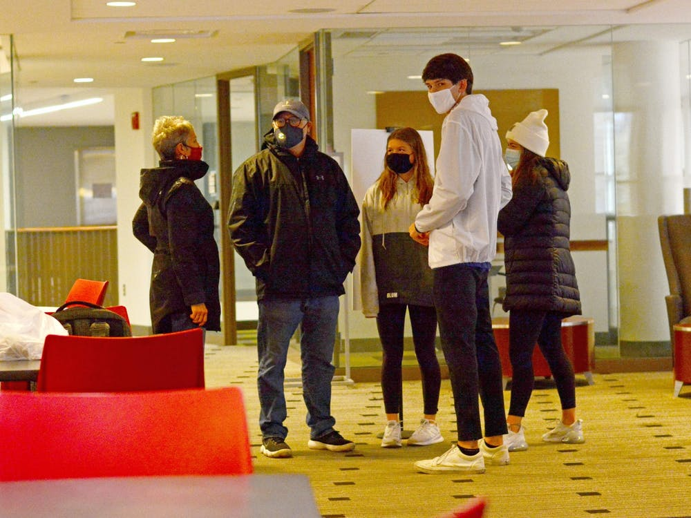 Miami's campus tours have a different look this year as the pandemic continues.