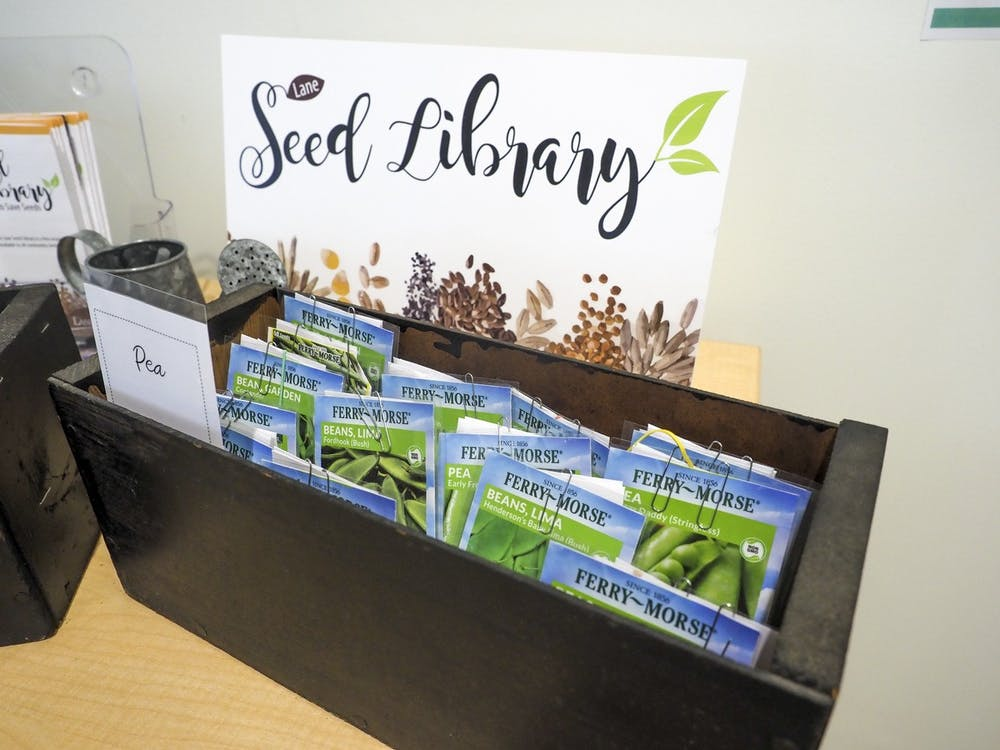 The Oxford Lane Library started a Seed Library to encourage community members to garden and enjoy nature.