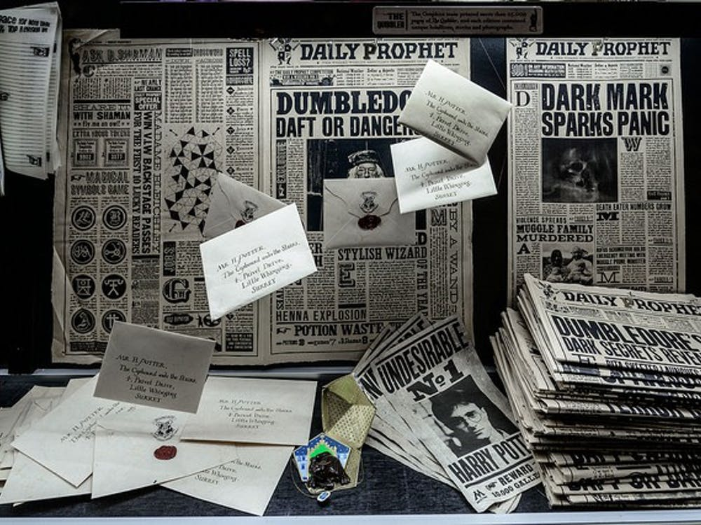 Magical components of the Harry Potter universe on display   Photo via Creative Commons
