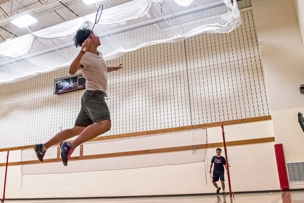 <p>The badminton club has become a home away from home for international students.</p>