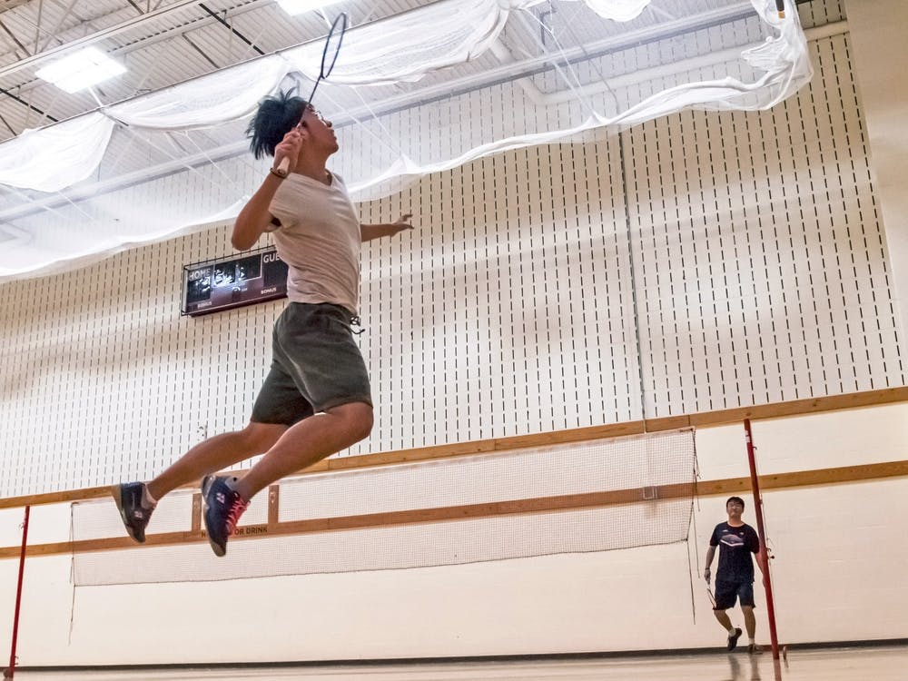 The badminton club has become a home away from home for international students.
