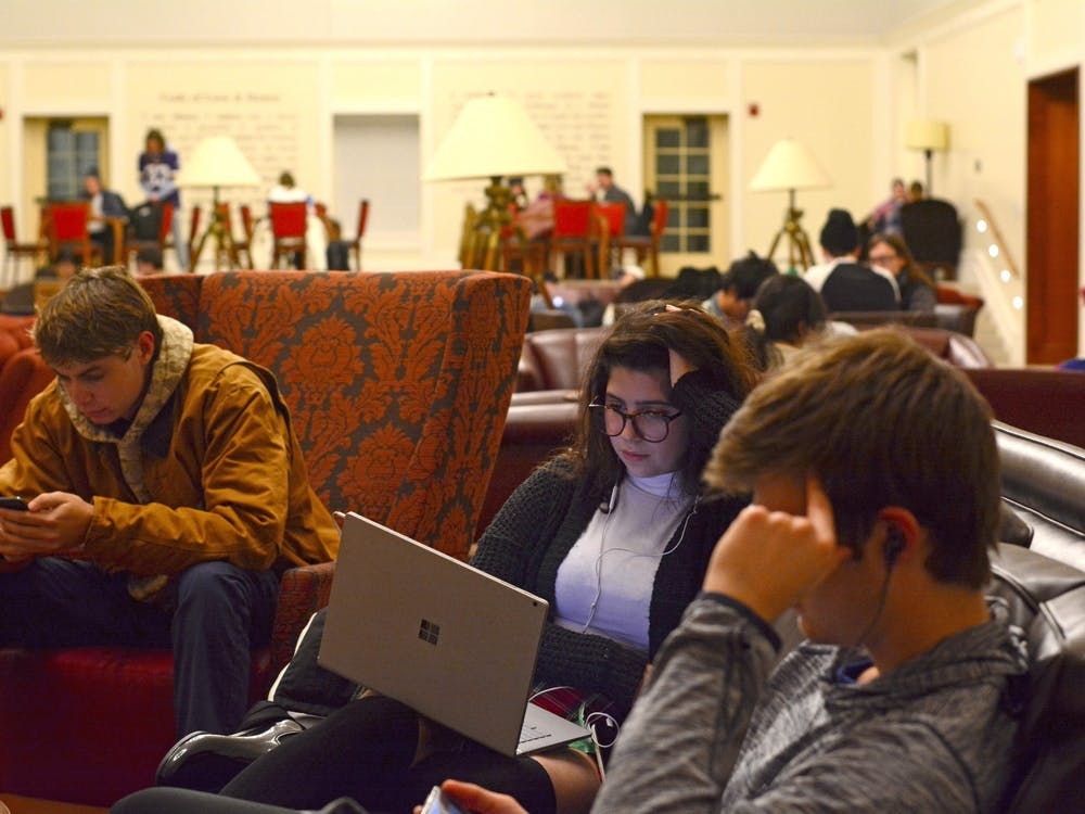 In the past, Armstrong was a favored finals week study location.