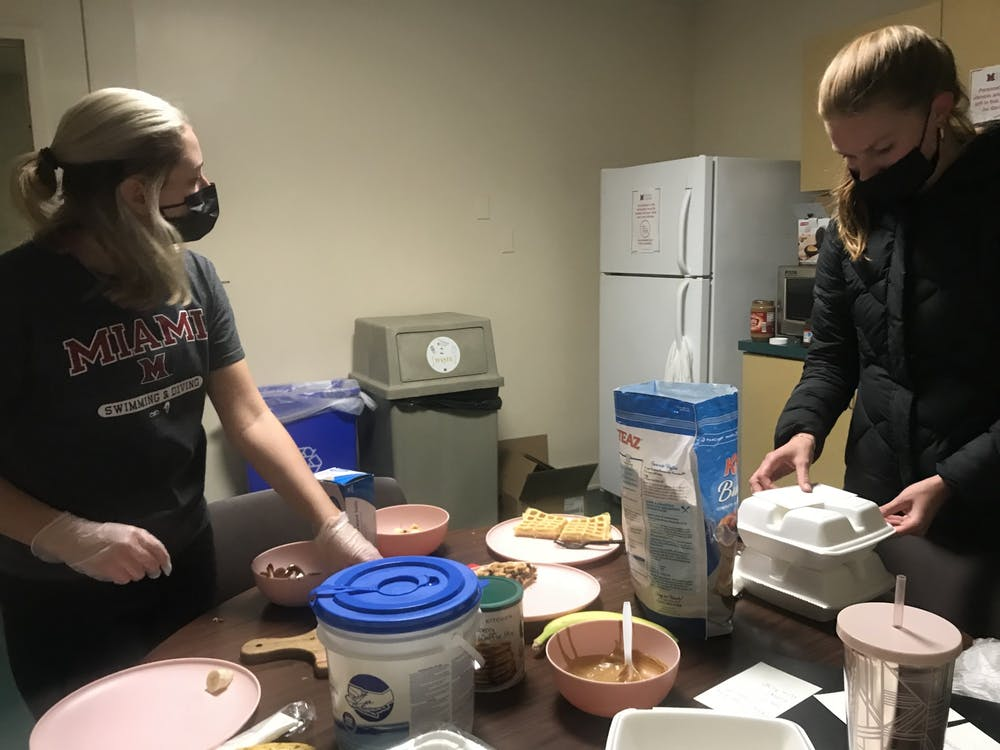 <p>Two Ogden Hall residents began a Waffle Wednesday side hustle amidst the pandemic.</p>