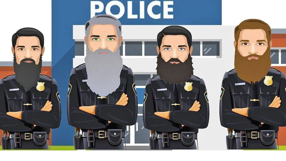 For No-Shave November this year, OPD raised funds and grew facial hair.