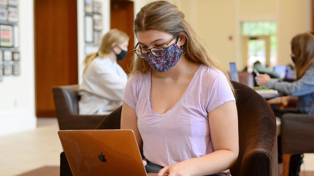 As in-person classes and move-in quickly approached, first-year Adeline Hatfield felt overwhelmed about the number of changes this school year had in store.