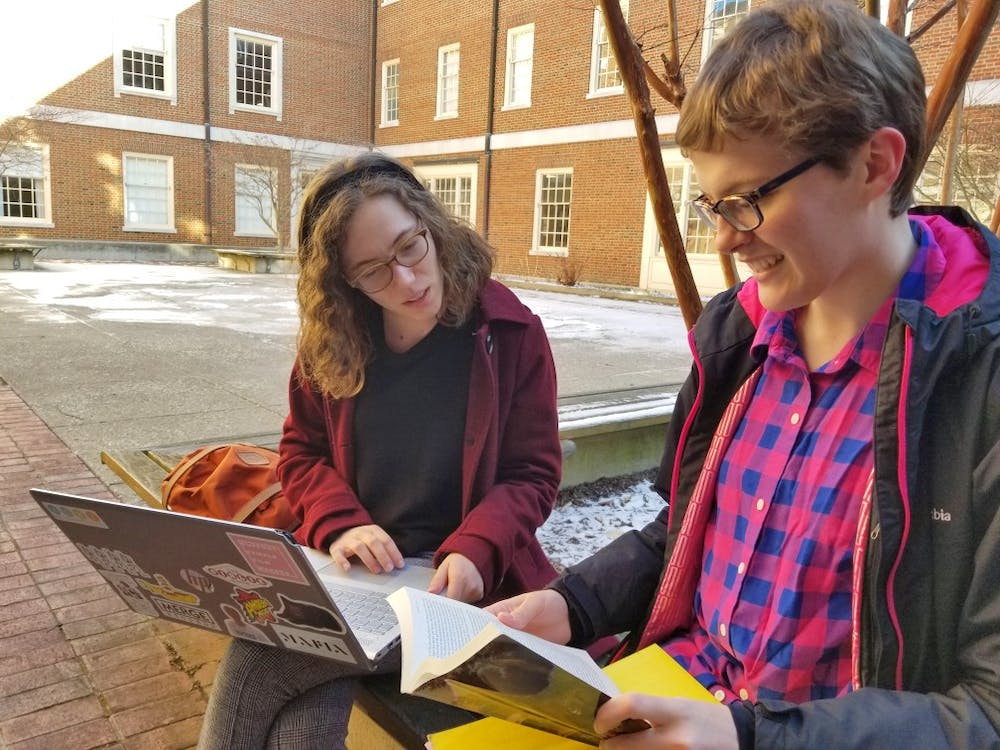 <p>The university is considering filling in the Bachelor courtyard, to the dismay of some English majors. </p>
