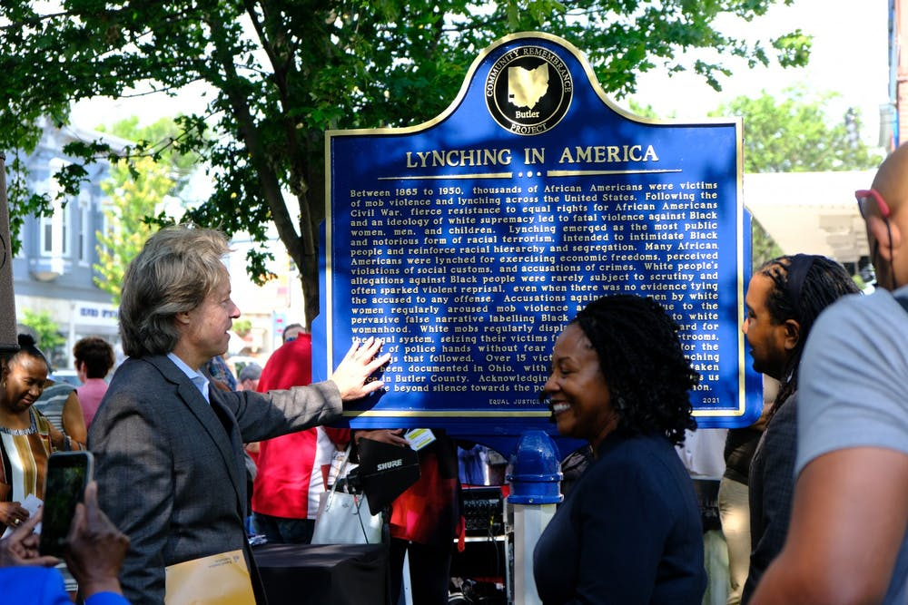 Miami University held the tenth National Civil Rights Conference and unveiled a marker honoring two Black men who were lynched in Oxford.