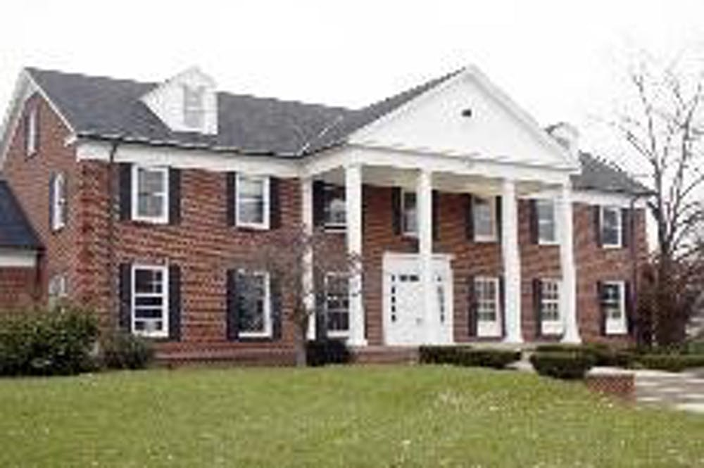 Located on Tallawanda Avenue, the Phi Delta Theta fraternity house stands empty until plans to renovate the house are complete.