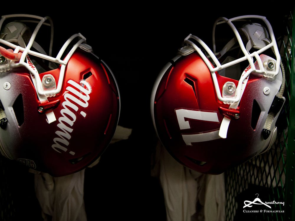 The Miami RedHawks will be back in uniform on Nov. 4.