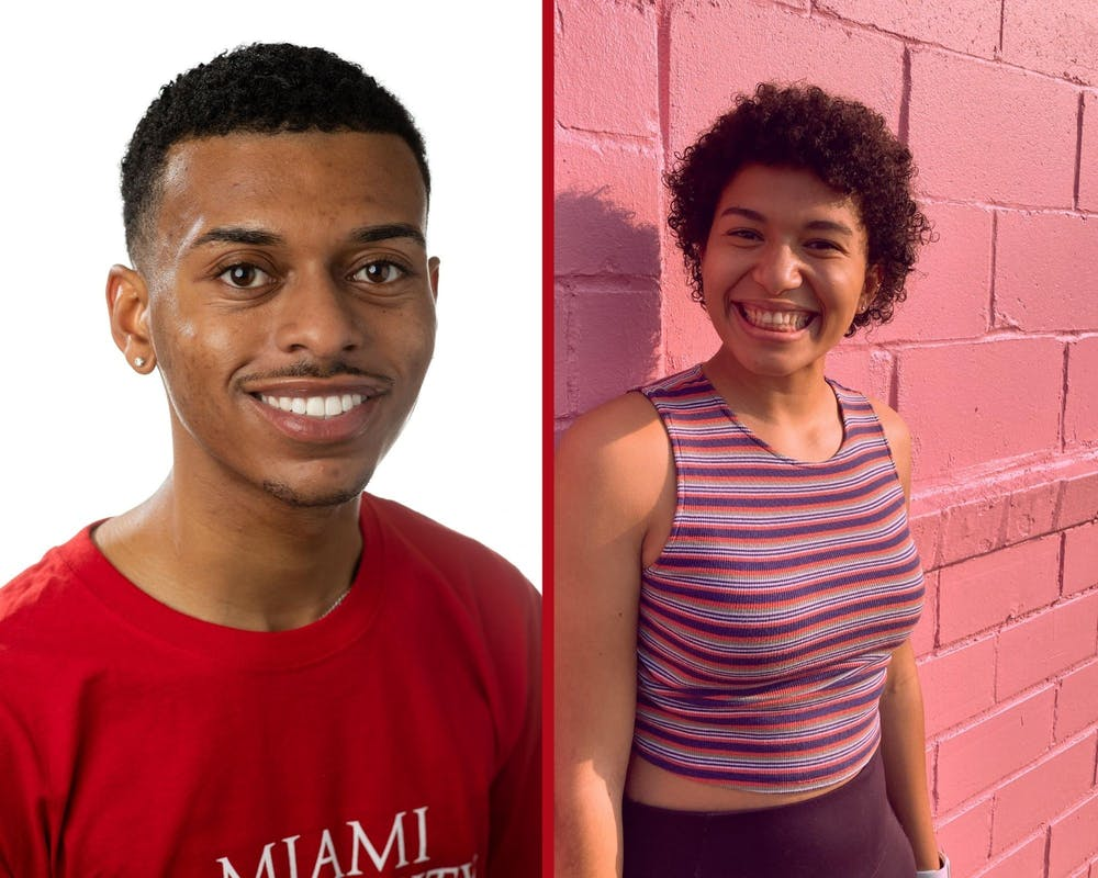 <p>Tre King (left) and Keresa Murray (right) are this year&#x27;s Love and Honor Cup recipients. </p>