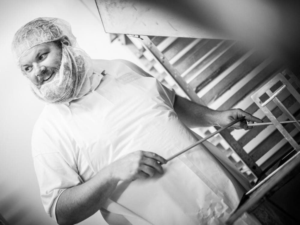 Josh Francis, Owner of Oxford Doughnut Shoppe