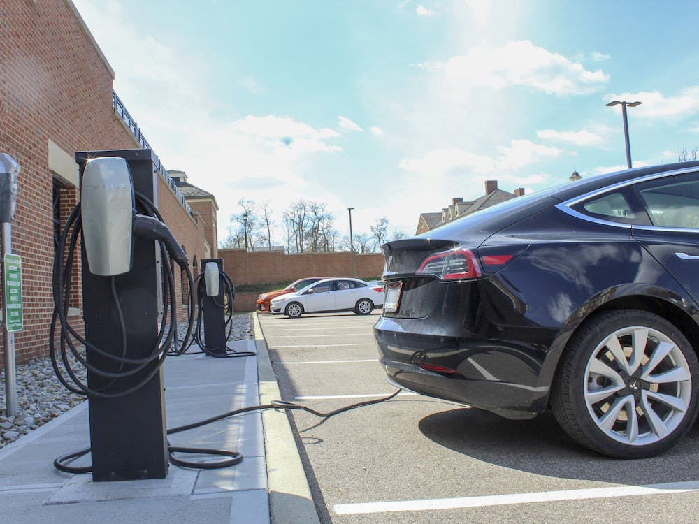 After receiving a grant from Ohio Environmental Protection Agency (OEPA), Miami and the City of Oxford will be creating nine new electric car charging ports.
