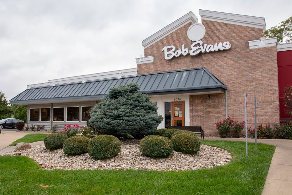 Jessica Fordyce was looking for a restaurant to deliver chicken noodle soup to her daughter in Tappan Hall and she settled on Bob Evans.