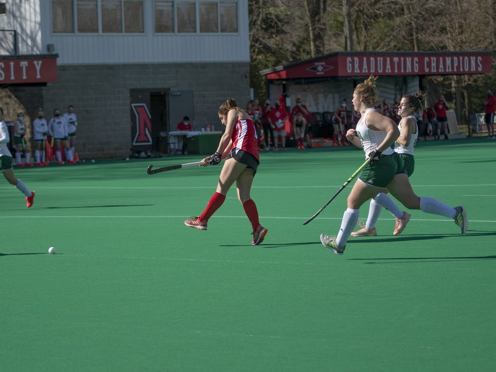 Women's field hockey was undefeated before losing to the No. 2 team in the nation.
