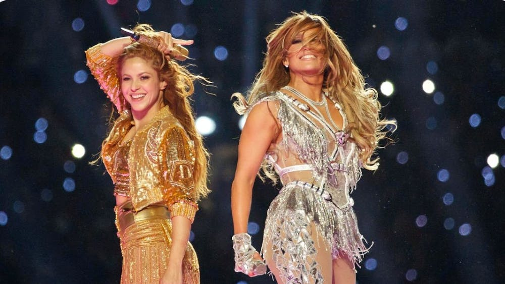 Shakira and J. Lo were chosen as Super Bowl co-headliners to reflect the culture of Miami, Super Bowl LIV's host city.