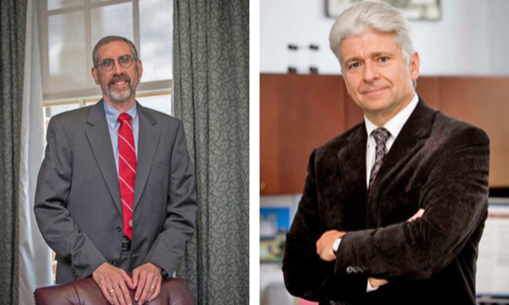 <p>Marek Dollar, Dean of the College of Engineering and Computing (CEC) and Marc Rubin, Dean of the Farmer School of Business, will be stepping down from their positions at the end of this school year. </p>
