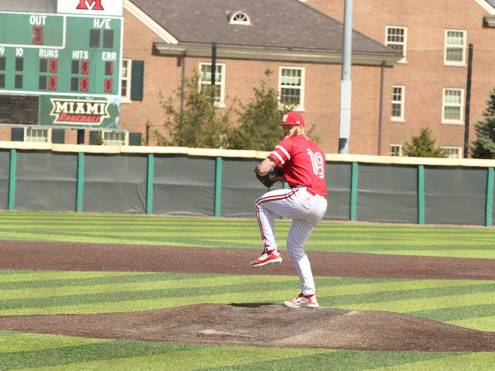 Former Miami pitcher Sam Bachman will earn a signing bonus of $3,847,500 after inking his deal with the Los Angeles Angels, per reports. Courtesy of Miami Athletics