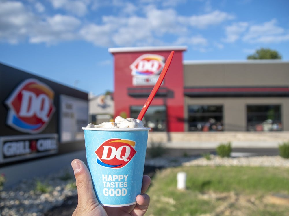 Oxford's new Dairy Queen, which opened on Friday, is already a hit with members of the community.