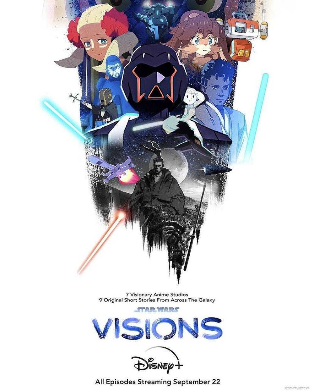 <p>The Star Wars franchise is expanding with a new animated anthology series, &quot;Star Wars: Visions.&quot; </p>