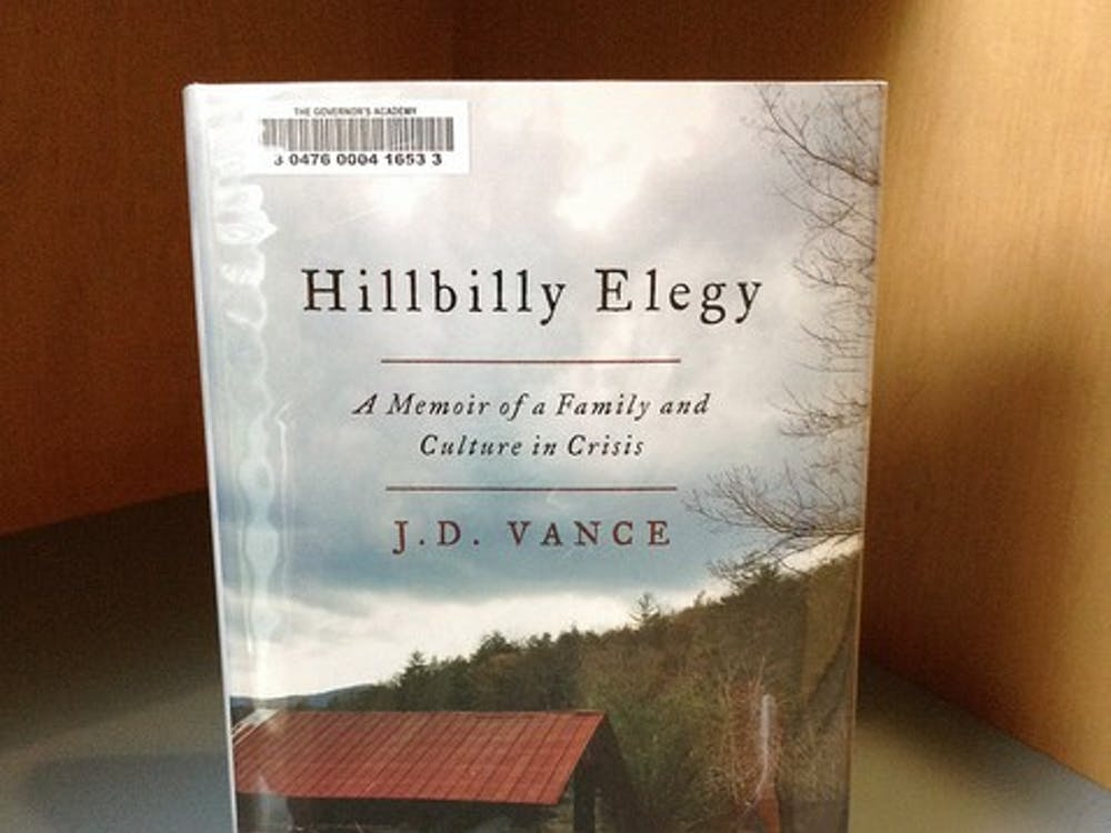 """Meibers cousin's novel """"Hillbilly Elegy"""" instantly captivated audiences after it was released in June. 