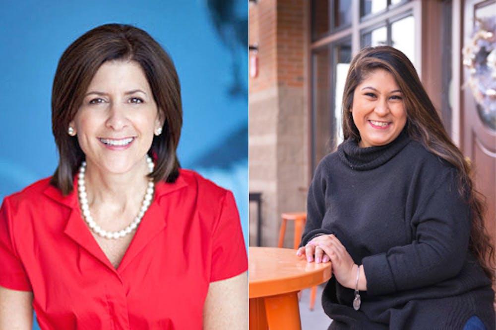 <p>Deborah Feldman (left) and Amitoj Kaur (right) were appointed to Miami&#x27;s Board of Trustees.</p>