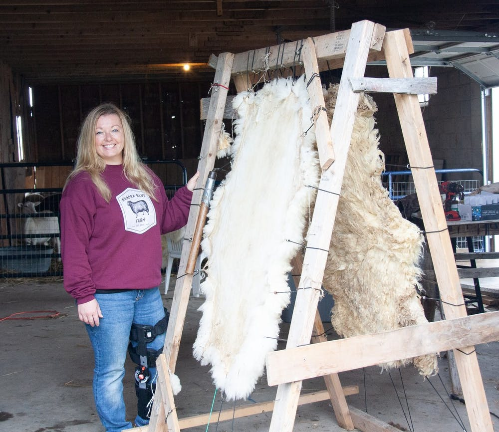 <p>Bethany Cantwell is a fifth-generation farmer and started Aurora Blue Farm in 2015.</p>