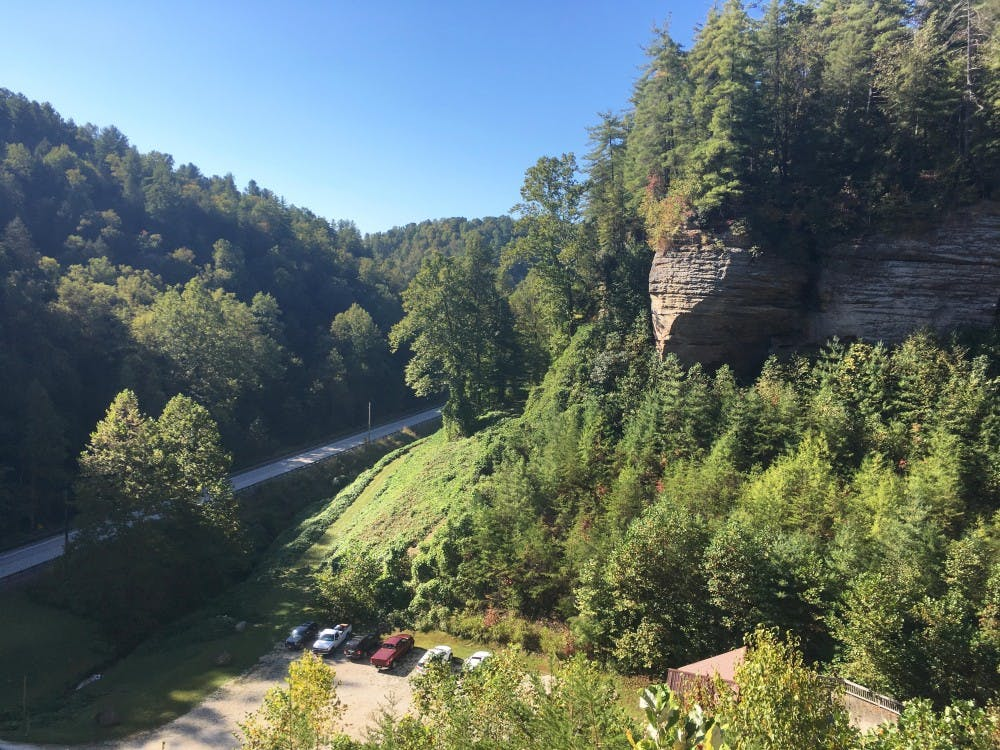 Learn to climb at Red River Gorge outside of Lexington, Kentucky.