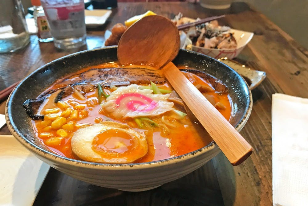 <p>Ramen is a Japanese comfort food.</p>