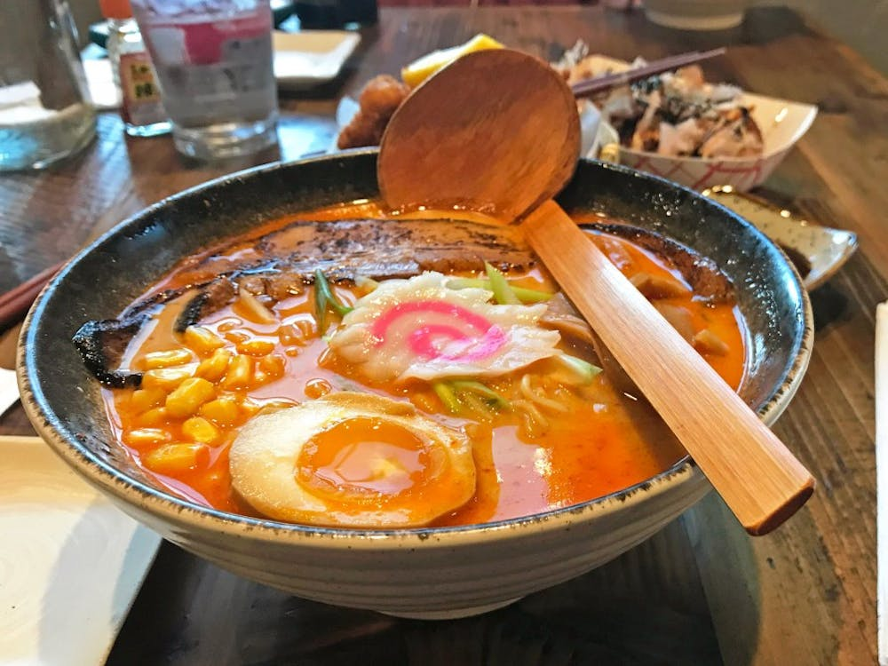 Ramen is a Japanese comfort food.