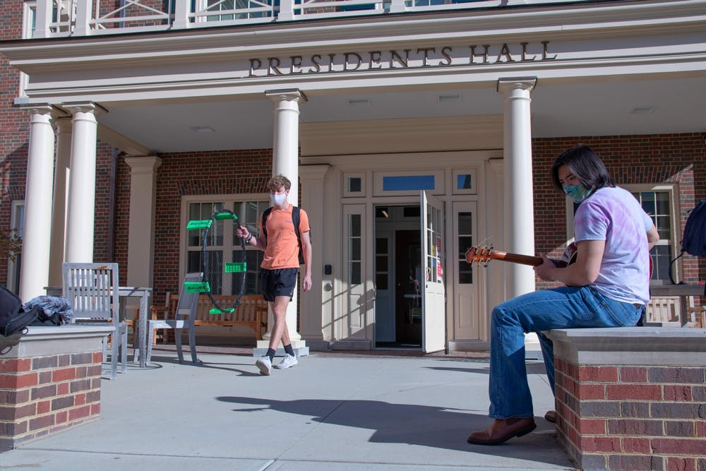 <p>After a different COVID semester in the dorms, some students are looking ahead to see what the spring semester will offer. </p>