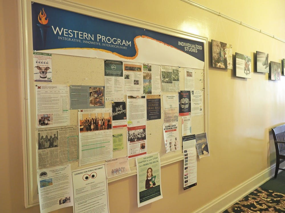 <p>Students in the Western Program have created majors such as Space Law, Cybersecurity and Terrorism, and Green Business.</p>
